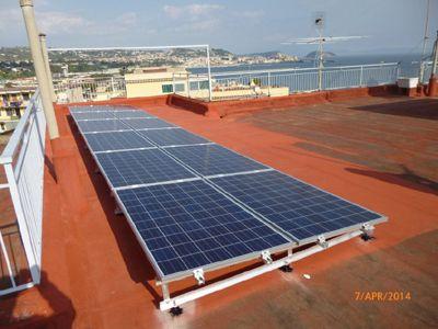 Impianto fotovoltaico con accumulo energia fotovoltaica