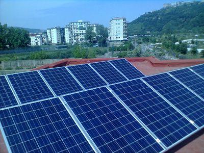 Impianto fotovoltaico chiesa