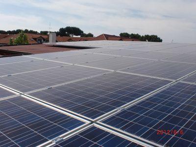 Impianto fotovoltaico complanare al tetto
