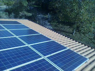 Impianto fotovoltaico indipendente isolato