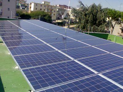 Impianto fotovoltaico connesso in rete e incentivato