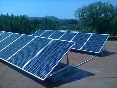 Impianto fotovoltaico indipendente ibrido