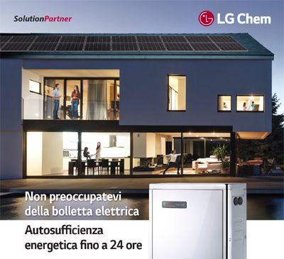 Impianti solari con batterie di accumulo al litio