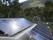 impianto fotovoltaico con accumulatore di energia fotovoltaica