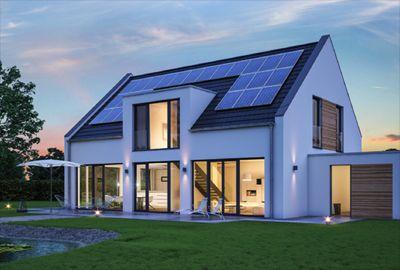 Impianto Fotovoltaico Ibrido con Accumlatore di energia fotovoltaica