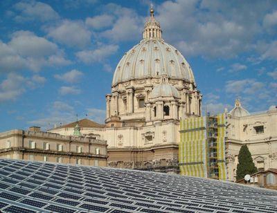 Impianto Fotovoltaico Industriale Vaticano