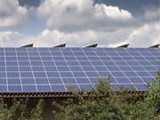 Centrale elettrica fotovoltaica con pannelli solari