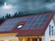 Tetto solare fotovoltaico e pannelli fotovoltaici integrati con Sistemi di Accumulo energia fotovoltaica
