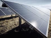pannelli solari terreno campo fotovoltaico