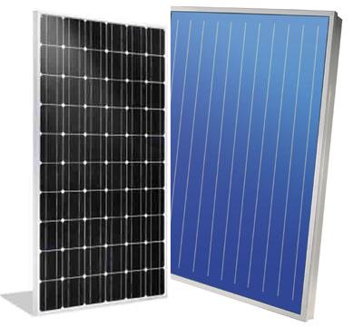 pannello solare fotovoltaico e termico
