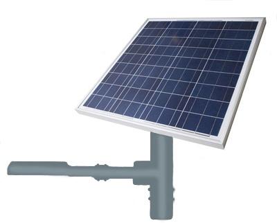 lampioni solari fotovoltaici a led