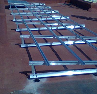 strutture meccaniche di supporto moduli fotovoltaici
